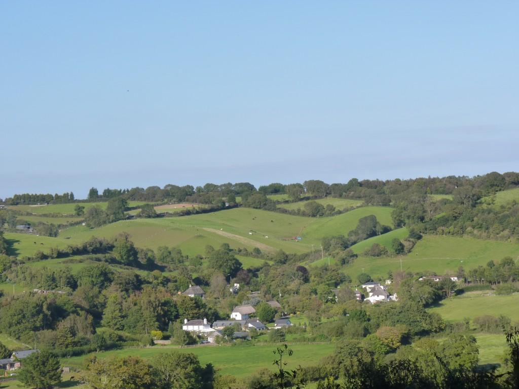 View of Daccombe from Orestone Lane